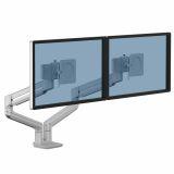 Ramię na 2 monitory TALLO™ (srebrne)