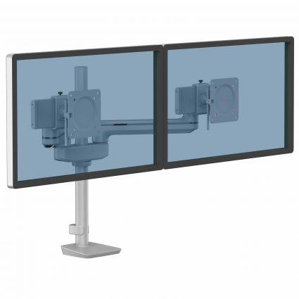 Ramię na 2 monitory TALLO Modular™ 2FS (srebrne)