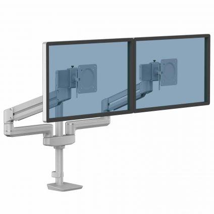 Ramię na 2 monitory TALLO Modular™ 2FMS (srebrne)