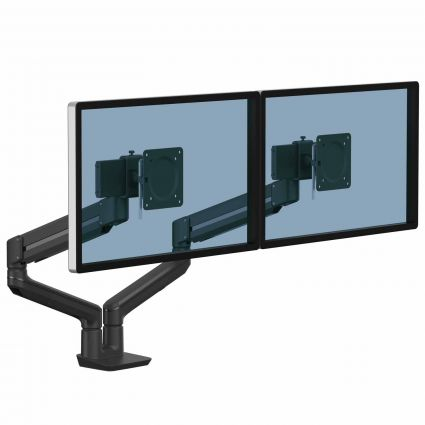 Ramię na 2 monitory TALLO™ (czarne)