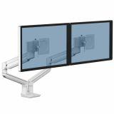 Ramię na 2 monitory TALLO™ (białe)