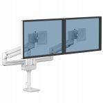 Ramię na 2 monitory TALLO Modular™ 2FMS (białe)