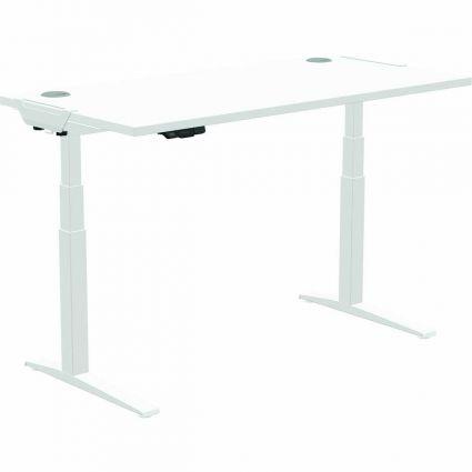 Baza do biurka z regulowaną wysokością LEVADO™ - biała