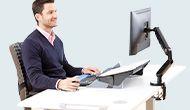 Rozwiązania ergonomiczne Fellowes do pracy zdalnej
