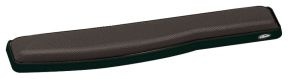 Podkładka żelowa premium przed klawiaturę szaro-czarna