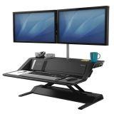 Stanowisko do pracy Sit-Stand Lotus™ DX  - czarne