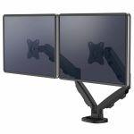 Ramię na 2 monitory Eppa™ - czarne
