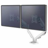 Ramię na 2 monitory Eppa™ - białe