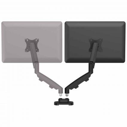 Zestaw z 1 ramieniem do rozbudowy na 2 monitory EPPA™ czarny