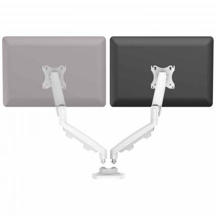 Zestaw z 1 ramieniem do rozbudowy na 2 monitory EPPA™ biały